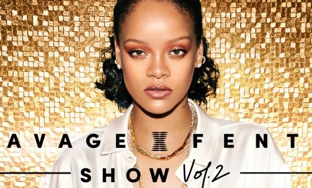 Rihanna en el Savage X Fenty Show Vol 2