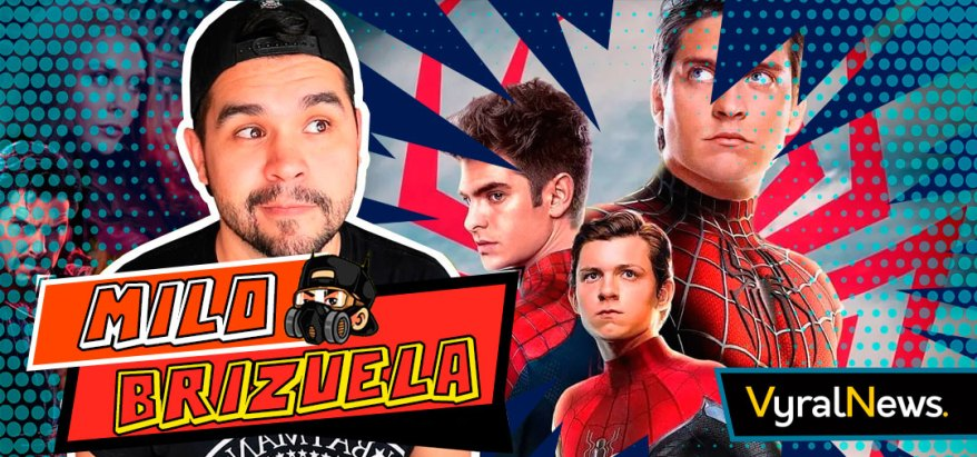 Mylo Brizuela en noticias sobre el Spider Verse, Doctor Strange 2