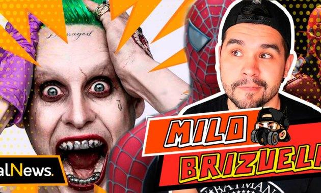 Mylo Brizuela en noticias sobre Jared Leto nuevamente como el Joker, Daredevil en Spiderman 3
