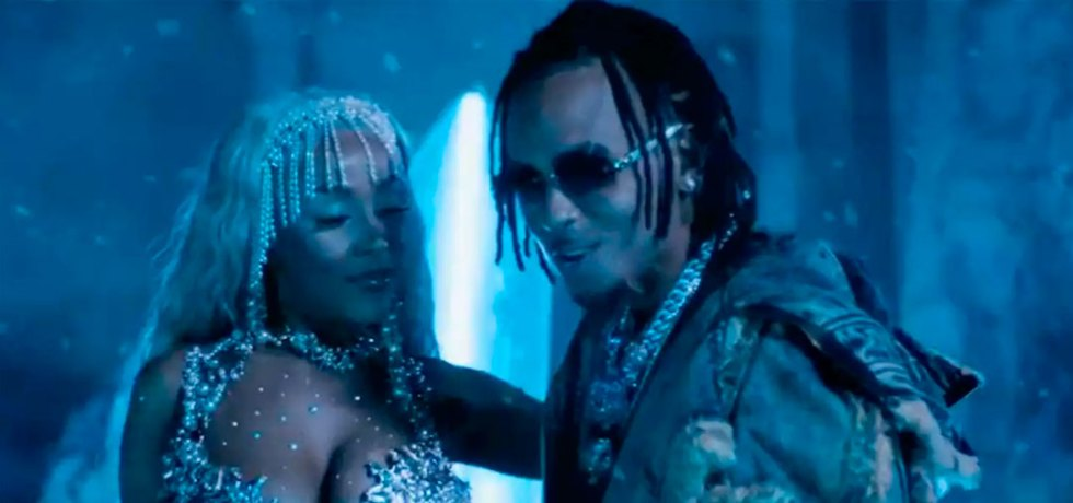 "Ozuna y Doja Cat en ""Del Mar"""