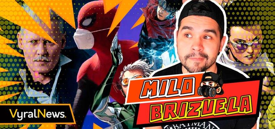 Mylo Brizuela en noticias sobre Spider-Man 3, Johnny Depp Renuncia y Young Avengers