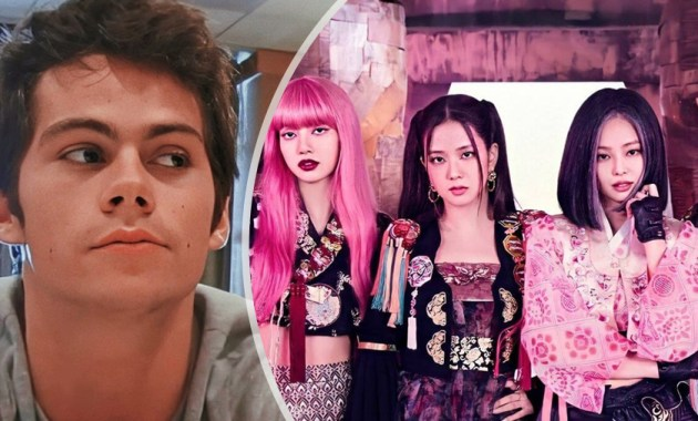 Dylan O'Brien y las BLACKPINK