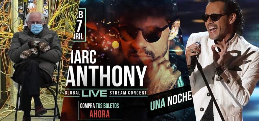 Marc Anthony y los memes por su concierto virtual