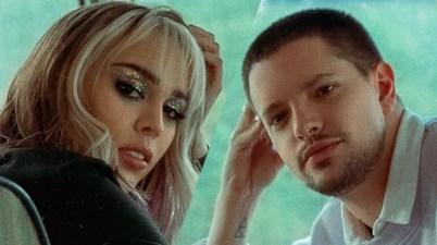 Lasso y Danna Paola en 'Ladrones'