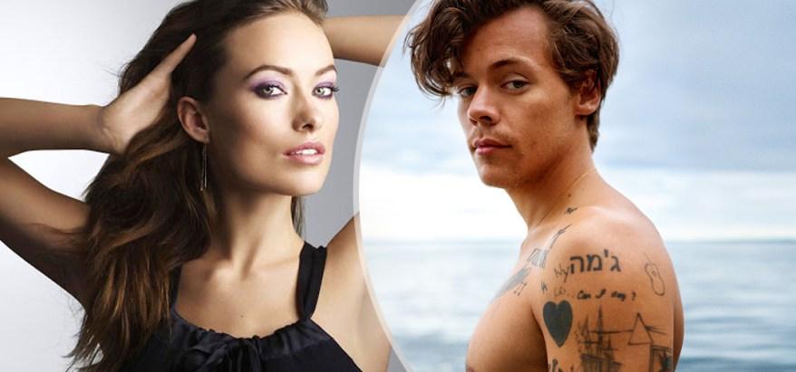 Oliva Wilde y Harry Styles