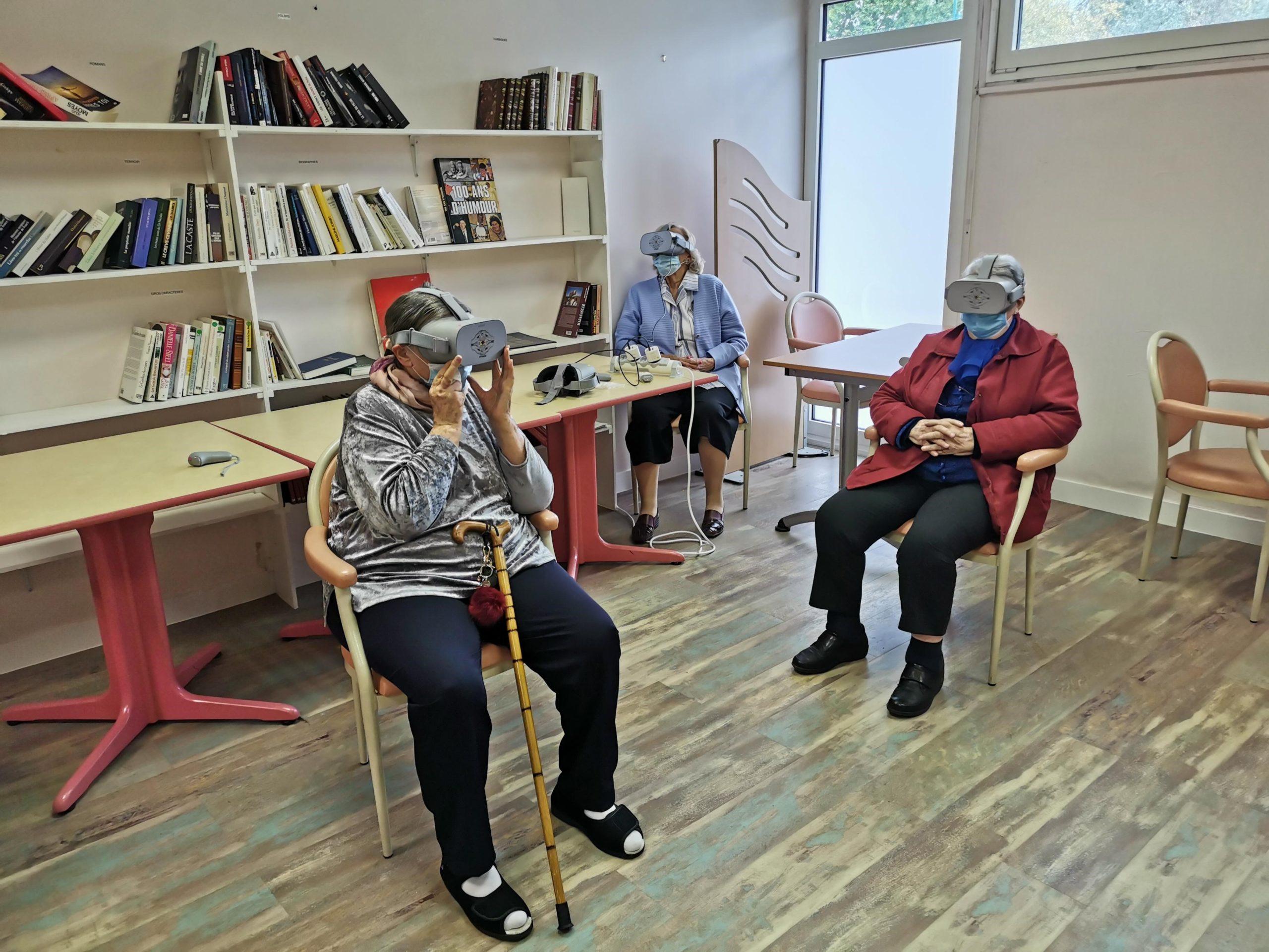 casque a réalité virtuelle trio