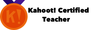 Kahoot Certified Teacher badge