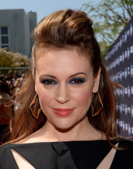 Actress Alyssa Milano calls for sex strike in protest against US abortion laws