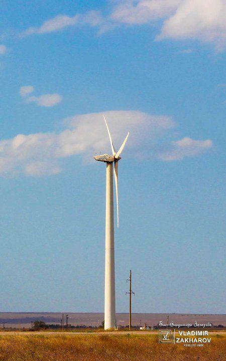 Ветрогенератор Т600-48, Мирновская ВЭС
