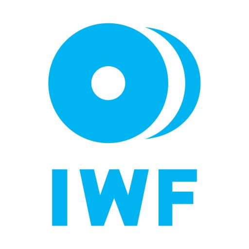 IWF Mezinárodní Vzpěračská Federace logo