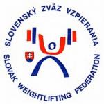 Slovenský zväz vzpierania logo