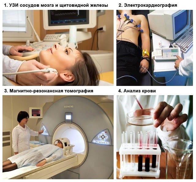 Metodi di diagnosi della malattia