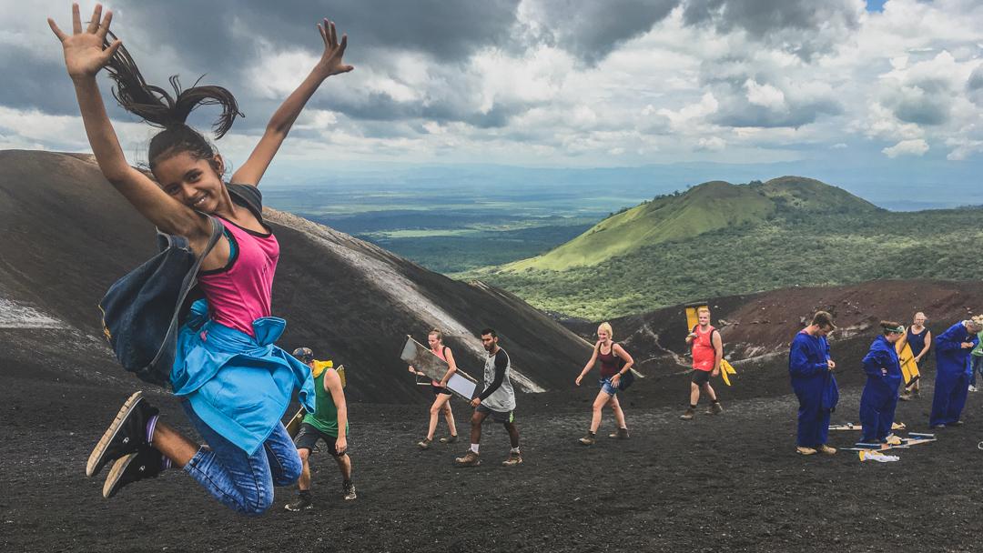 Volcano day Nicaragua