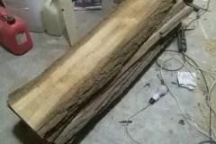 Dřevěné umyvadlo - začátek