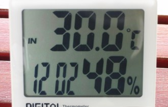 この後、30.5℃まであがっていました。