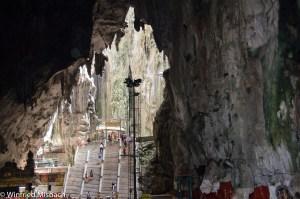 gigantische Haupthalle der Batu Caves