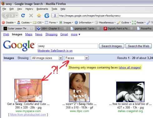 Google Face Search Fail (cropped)