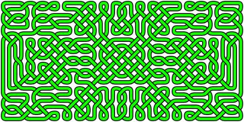 A more complex celtic knot