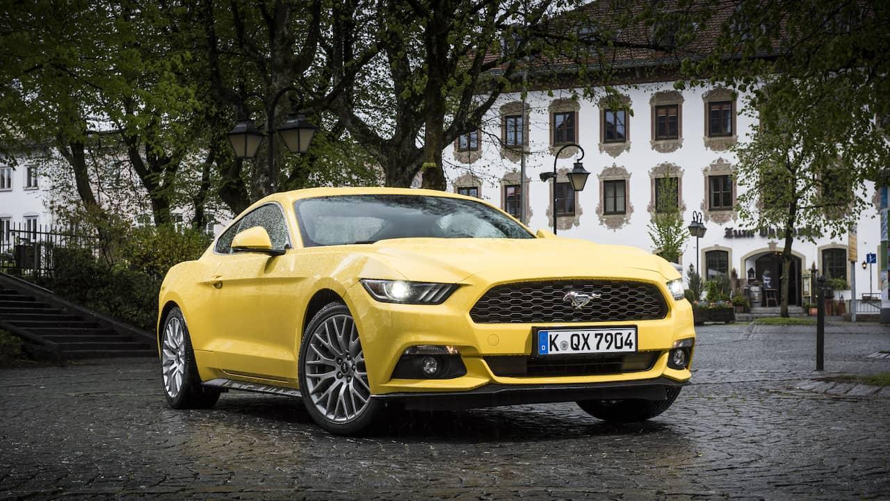Ford Mustang Ar Varldens Mest S Lda Sportbil