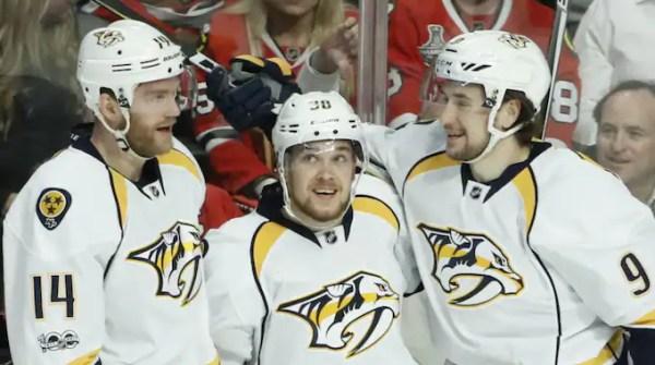 Viktor Arvidsson avgjorde med drömmål i natt   NHL   Expressen