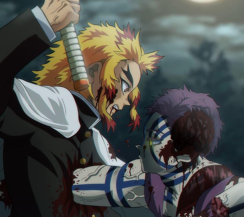 Anime Demon Slayer Kimetsu No Yaiba Akaza Demon Slayer Kimetsu No Yaiba Hd Wallpaper Peakpx