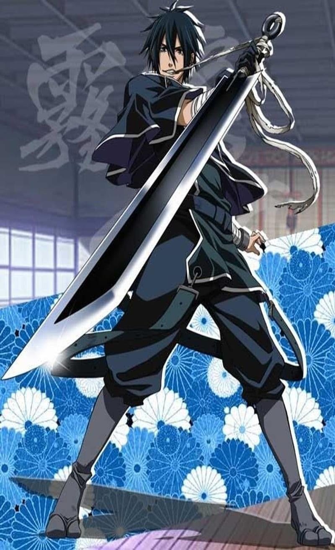 Anime Boy Man Samurai Sword Ninja Hd Mobile Wallpaper Peakpx