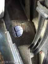 Blick von Innen : Beurteilung des Reifenprofils ohne auszusteigen problemlos möglich