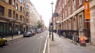 Bolsover Street Alley in Fitzbone
