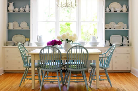 fabulous dining room decor on a dime