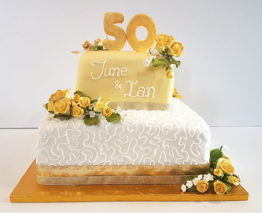 50th Golden Wedding Anniversary Party Supplies