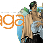 Source Material:  Saga Comics Volume 1 (Image, 2012)