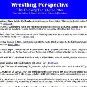 Wrestling Perspective