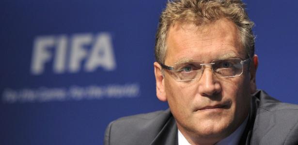 Secretário-geral da Fifa, Jérôme Valcke, espera que seja mais fácil organizar a Copa na Rússia de Putin