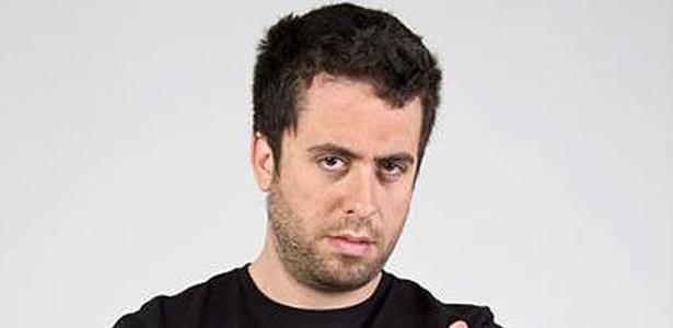 Novo integrante do CQC, o humorista Maurício Meirelles