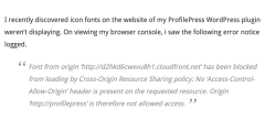 "Solution to ""Font from origin 'http://cdn.domain.com' has been blocked from loading by Cross-Origin Resource Sharing policy"""