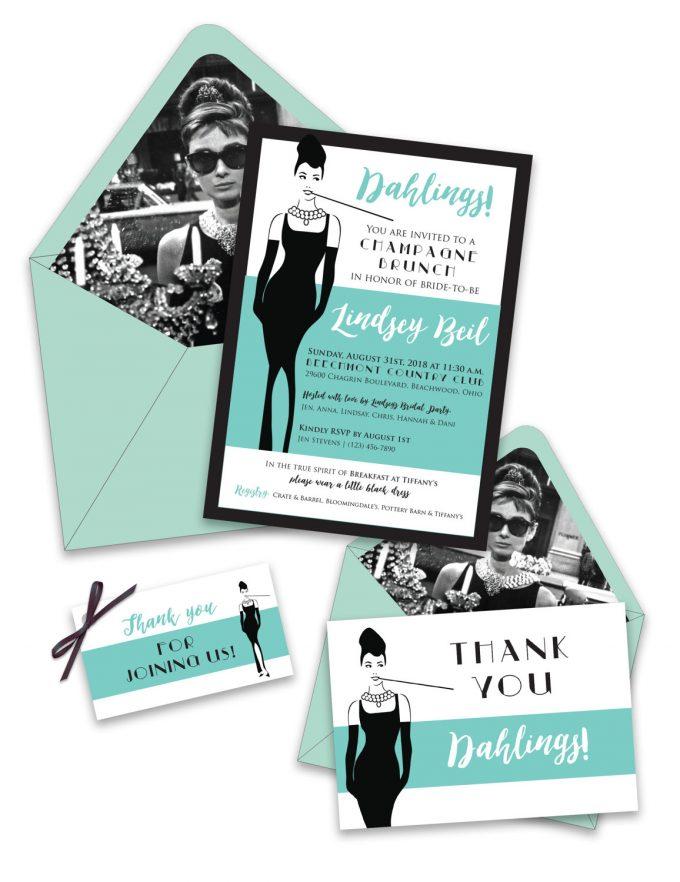 Elegant, customizeable breakfast at tiffany's invitation download 30 Darling Breakfast At Tiffanys Bridal Shower Ideas Emmaline Bride