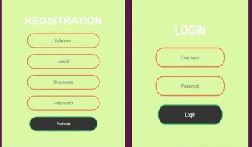 Simple Registration and Login Using Bootstrap