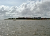 Wittdün and the tip of Amrum as seen from the ferry upon arrival on the island!