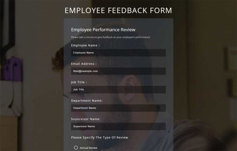 Employee Feedback Form a Flat Responsive Widget Template  Employee Feedback Form a Flat Responsive Widget Template