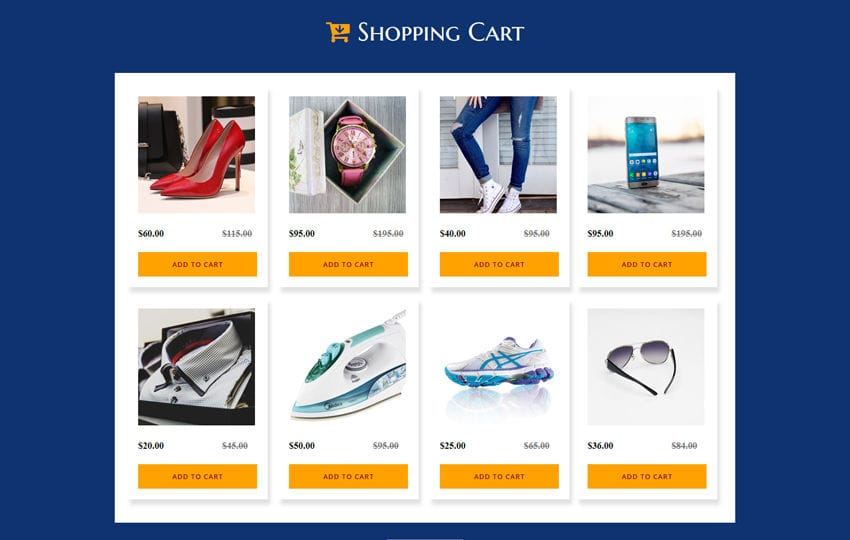 Responsive retail shopping cart template 788x543. Shopping Cart Website Template Online Store W3layouts