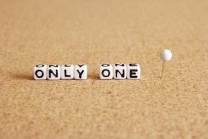 個性・only one