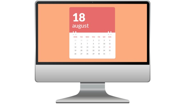 Code-dynamic calendar