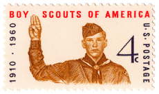 boy scout stamp