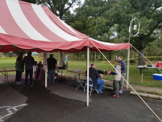 Camp Snyder JOTA tent 2