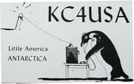 QSL card from Little America