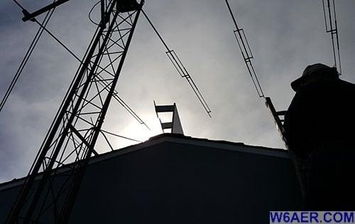 K6BV Antenna Install