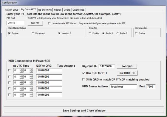 JT65-HF Rig Control