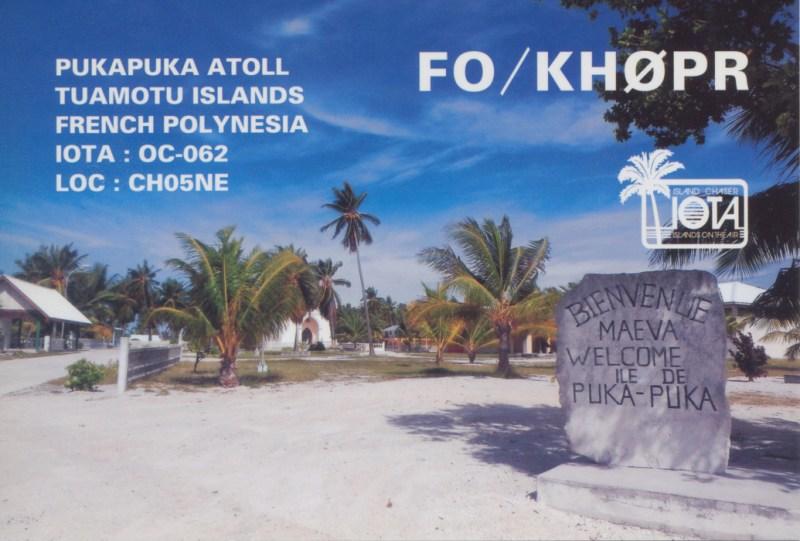Puka Puka Atoll