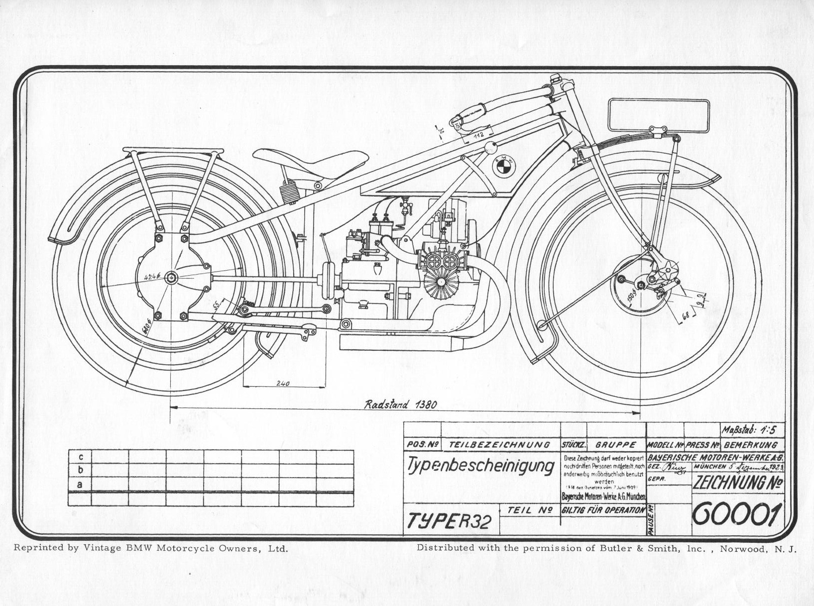 R32 Line Drawing Duane Ausherman Bmw Motorcycles