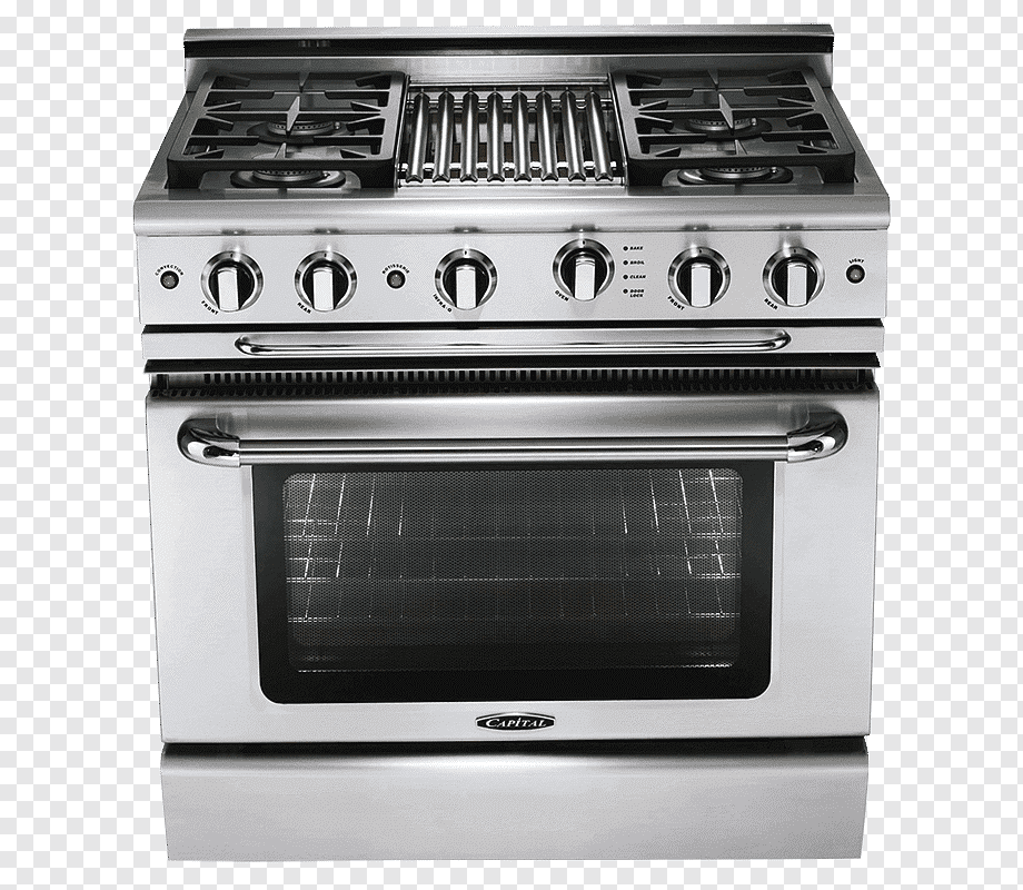 Cooking Ranges Gas Stove Convection Oven Barbecue Self Cleaning Oven Barbecue Kitchen Kitchen Appliance Png Pngwing